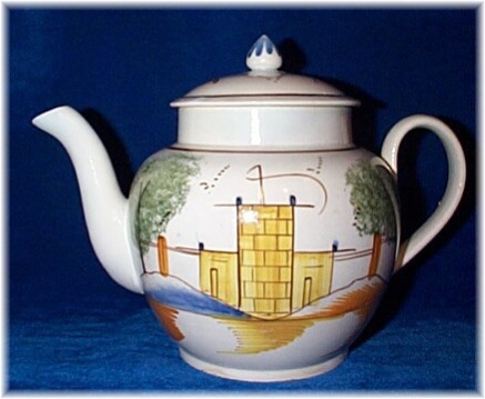Leeds Castle teapot after restoration